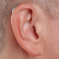 Receiver in Canal Hearing Aid in Ear